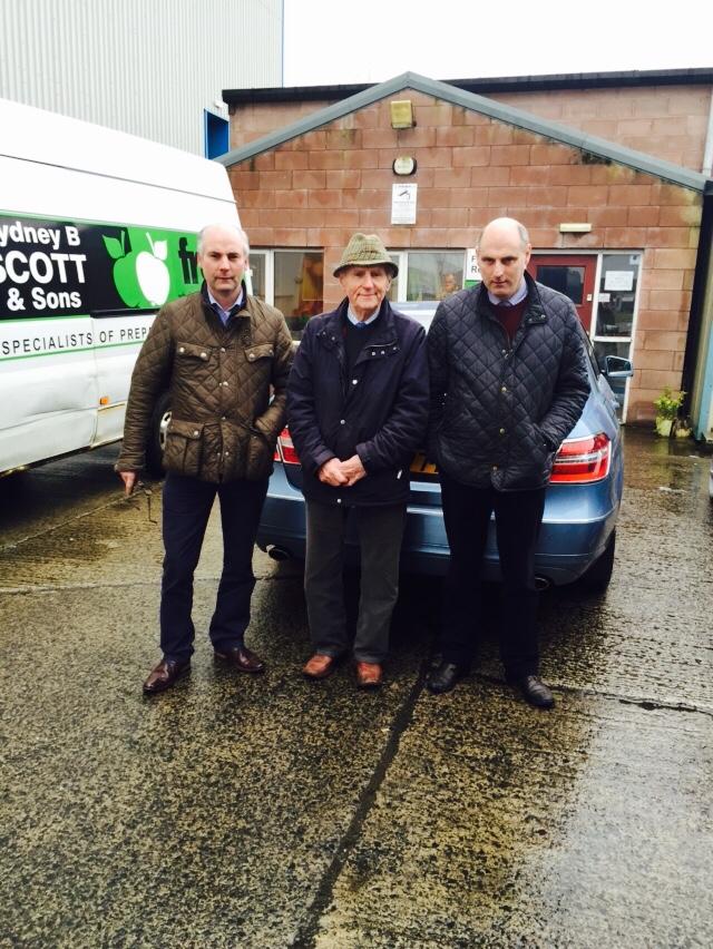 The Scotts, Richard, Sydney, and David