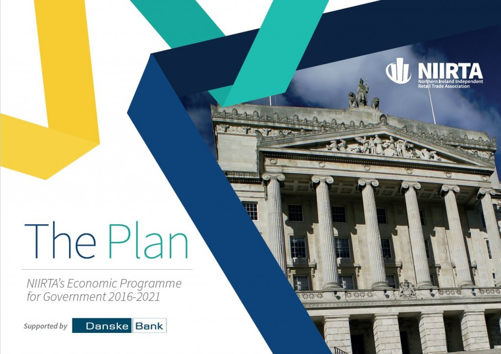 NIIRTA's Economic Programme for Government 2016-2021, dubbed 'The Plan'