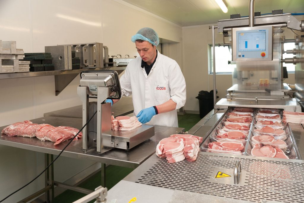 Inside the Europa Foods factory