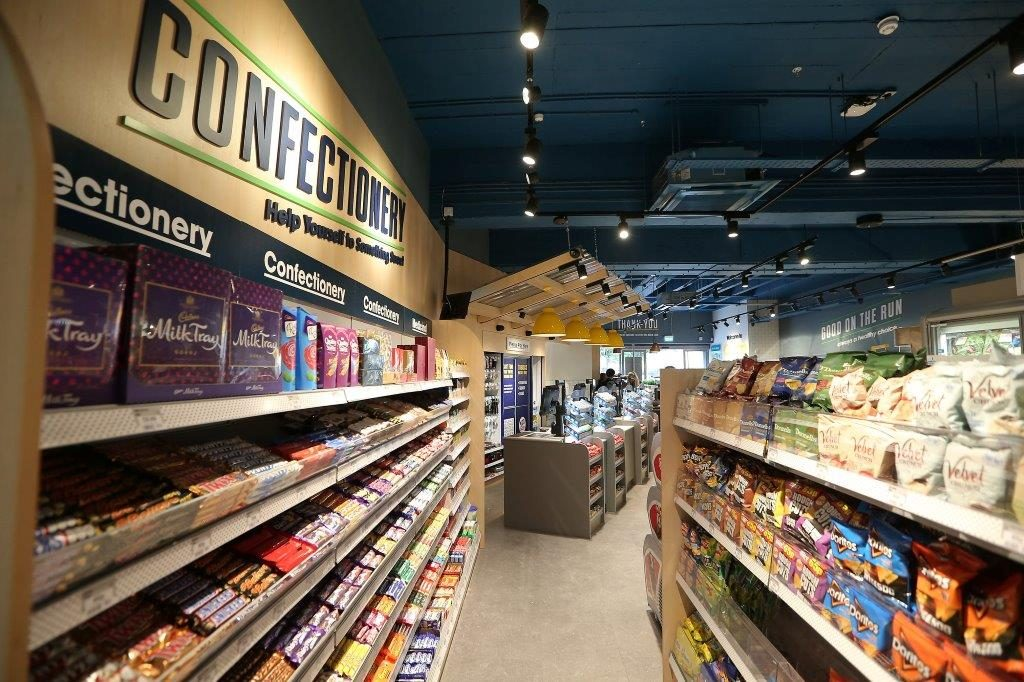 The confectionery aisle