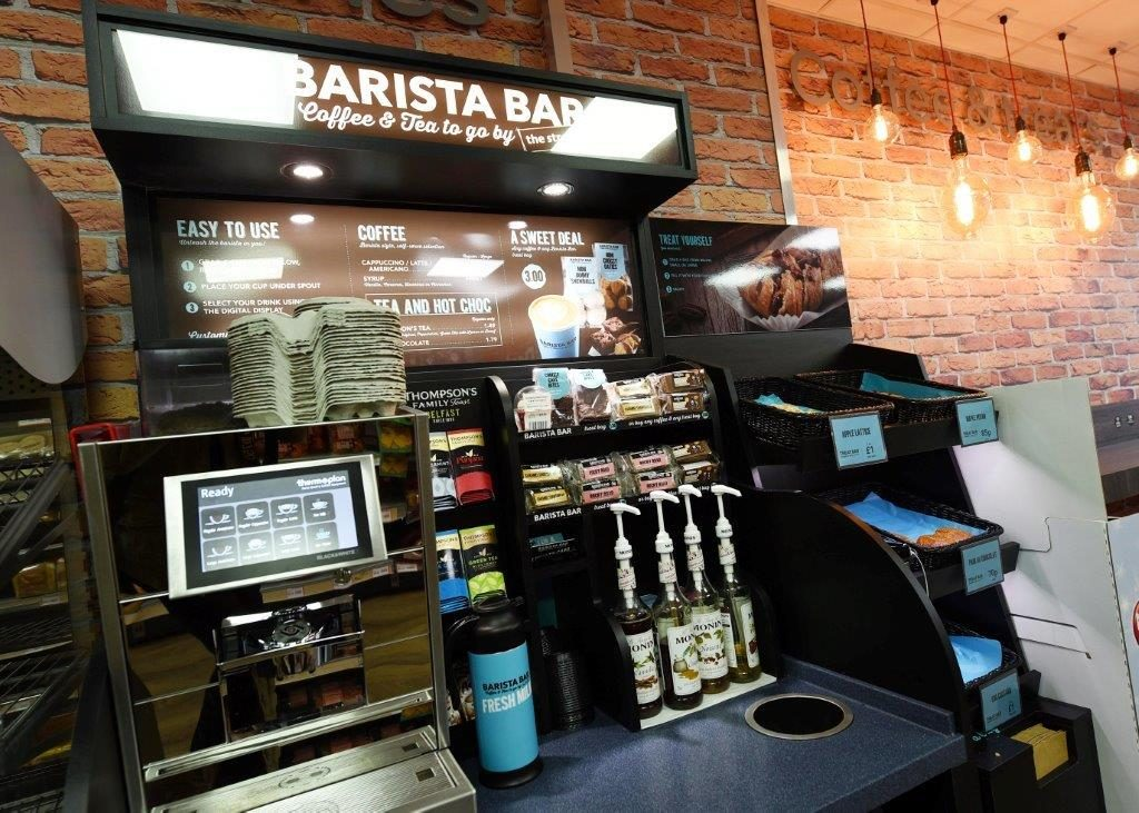 The barista bar offer