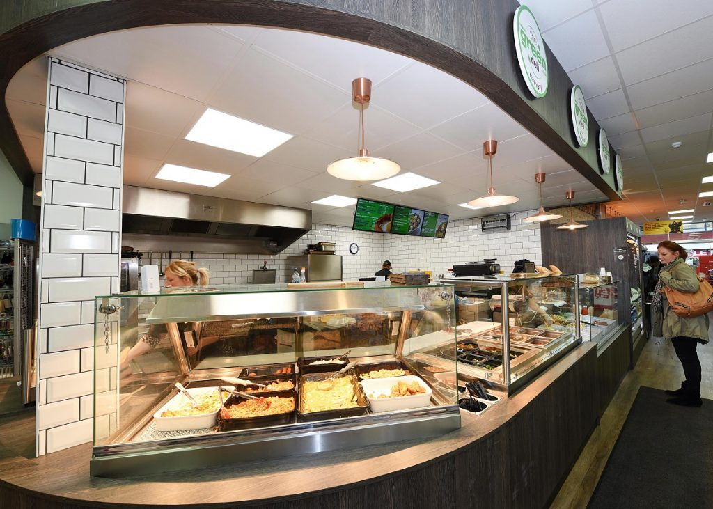 The expanded instore deli counter